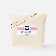 Idaho-Star Stripes: Tote Bag