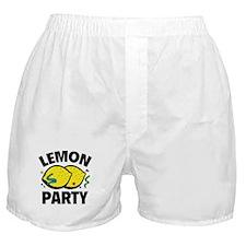 Lemon Party Boxer Shorts