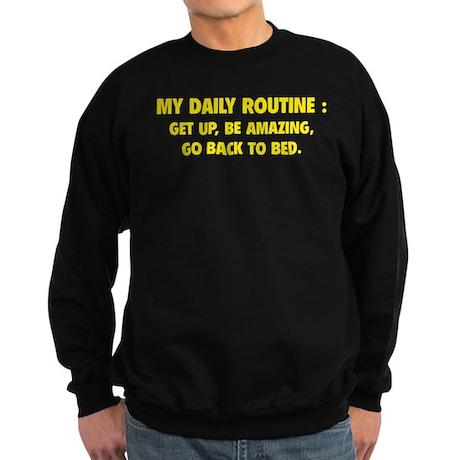 My Daily Routine Sweatshirt (dark)