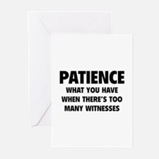 Patience Greeting Cards (Pk of 20)