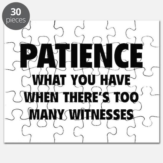 Patience Puzzle