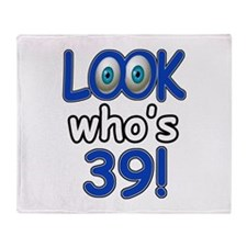 Look who's 39 Throw Blanket