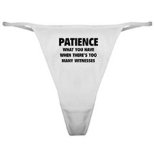 Patience Classic Thong