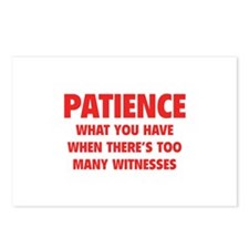 Patience Postcards (Package of 8)