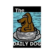 The Daily Dog Chocolate Lab Magnet