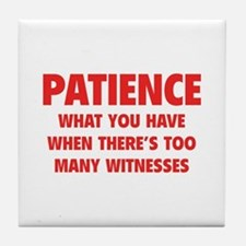 Patience Tile Coaster