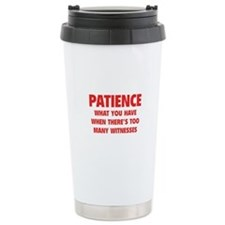 Patience Travel Mug