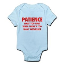 Patience Infant Bodysuit