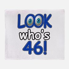 Look who's 46 Throw Blanket