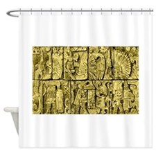Ancient Mayan Shower Curtain