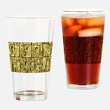 Ancient Mayan Drinking Glass