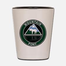 Mountain Pony Shot Glass
