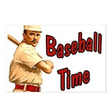 Baseball time Postcards (Package of 8)