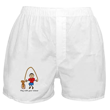 Dachshund Play with your wiener Boxer Shorts
