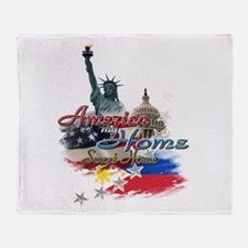 USA - Philippines: Throw Blanket