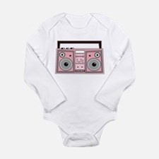 Funny Jazz radio Long Sleeve Infant Bodysuit