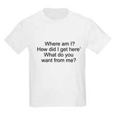Where am I? T-Shirt
