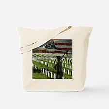 Guard at Arlington National Cemetery Tote Bag