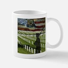 Guard at Arlington National Cemetery Mug