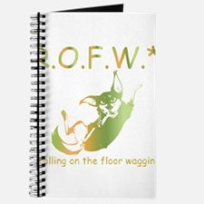 rolling on the floor wagging Journal