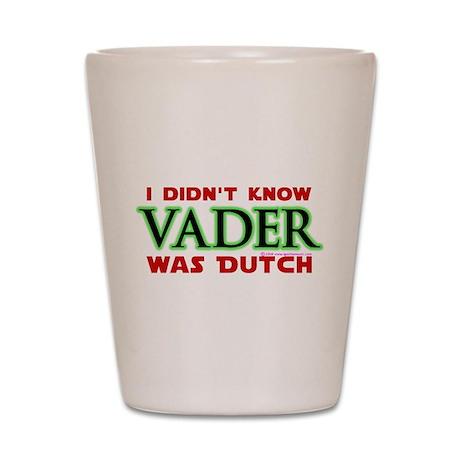Vader was Dutch- Saber Green Shot Glass