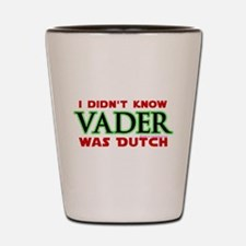 Vader was Dutch- Saber Green Shot Glass