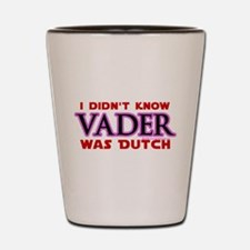 Vader was Dutch - Saber Purple Shot Glass