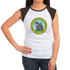 Adopt A Cat Grey Tabby Women's Cap Sleeve T-Shirt