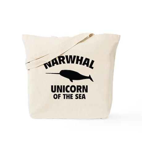 Narwhale Unicorn of the Sea Tote Bag