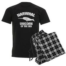 Narwhale Unicorn of the Sea Pajamas