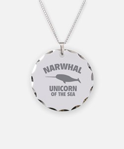 Narwhale Unicorn of the Sea Necklace