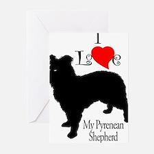 Pyrenean Shepherd Greeting Cards (Pk of 10)