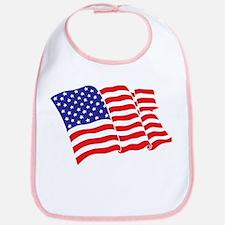 American Flag/USA Bib