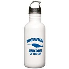 Narwhale Unicorn of the Sea Water Bottle