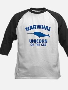 Narwhale Unicorn of the Sea Tee
