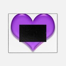 purple heart Picture Frame