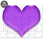 purple heart Puzzle