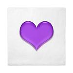 purple heart Queen Duvet