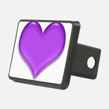 purple heart Hitch Cover