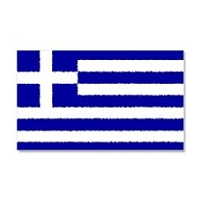 Greek Flag Car Magnet Car Magnet 20 x 12