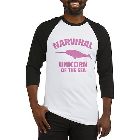 Narwhale Unicorn of the Sea Baseball Jersey
