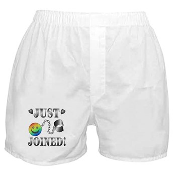 Just Joined Boxer Shorts