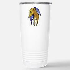 two greyhounds Travel Mug