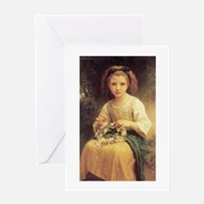 Daisy Crown Greeting Card