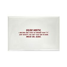 Dear Math Rectangle Magnet (100 pack)