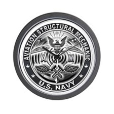 USN Aviation Structural Mechanic Eagle Rate Wall C