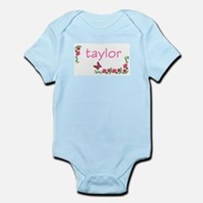 Butterfly & Flowers Taylor Infant Creeper