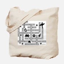 JERSEY SHORE SCRABBLE-STYLE Tote Bag