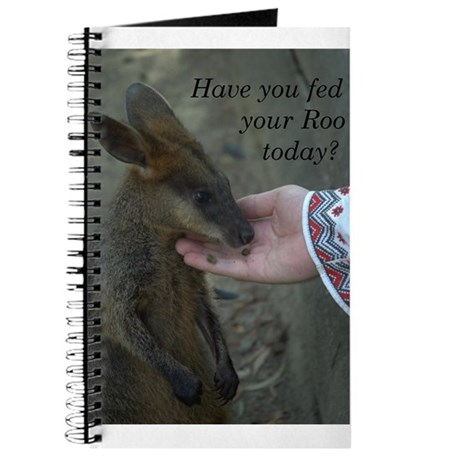 Have you fed your Roo today? Journal