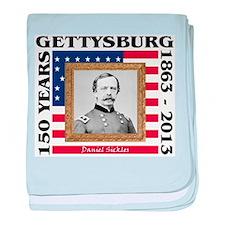 Daniel Sickles - Gettysburg baby blanket